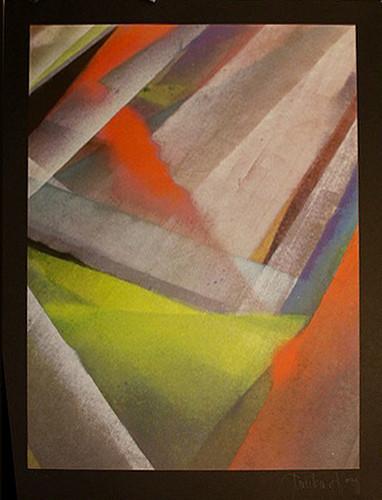 Tauba Auerbach - Tetrachromat print